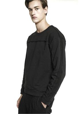 Martin Asbjørn Panel Sweatshirt