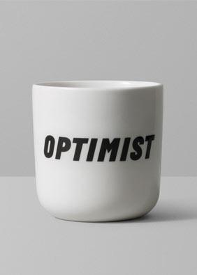 Playtype Optimist mug