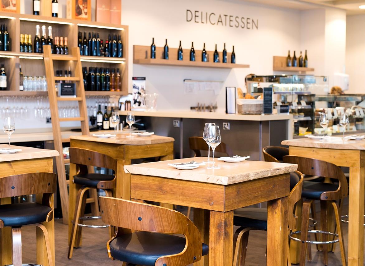 the second floor delicatessen at harvey nichols, manchester harvey