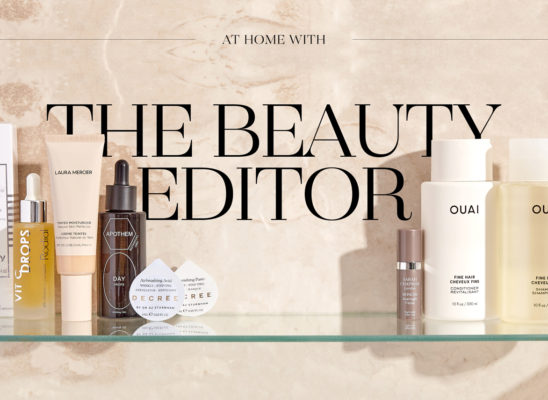 At Home With The Beauty Editor - Harvey Nichols