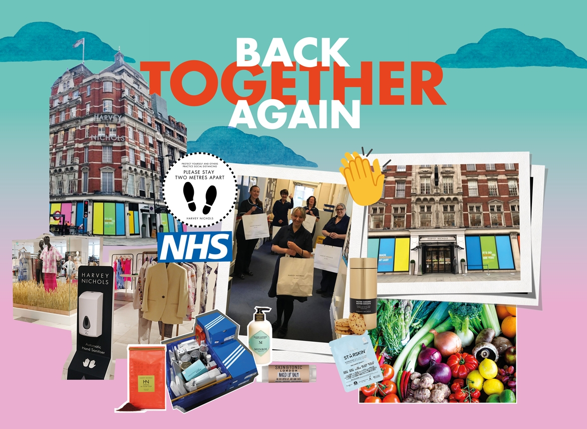 Back Together Again - Harvey Nichols Knightsbridge reopens